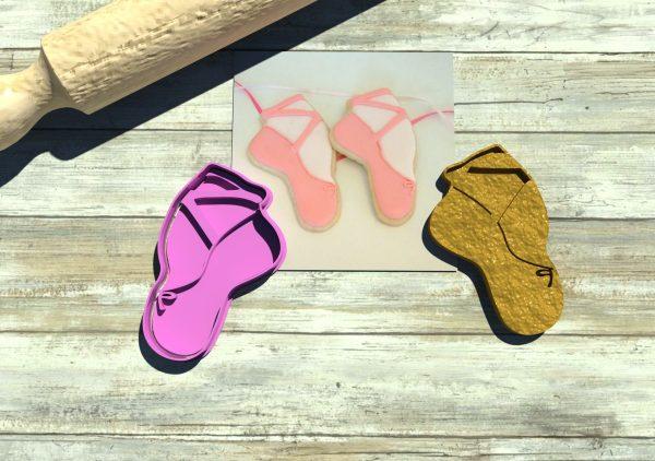 Scarpette ballerina formina biscotti