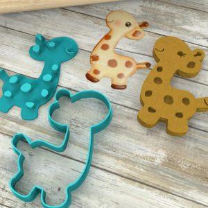 Giraffa formina tagliabiscotti