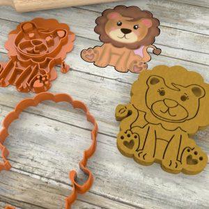 Leone leoncino formina biscotti