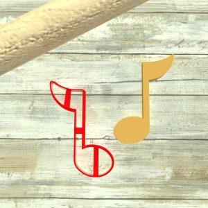 Nota musicale formina biscotti