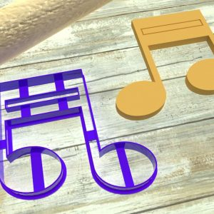 Nota musicale tagliabiscotti