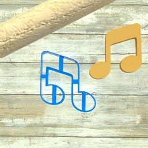 Note musicali formine biscotti