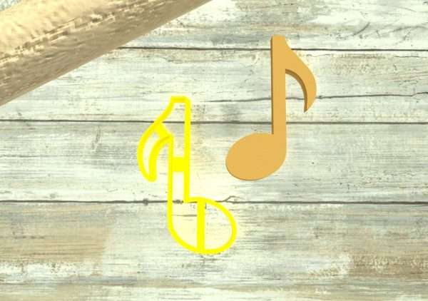 Note musicali tagliabiscotti