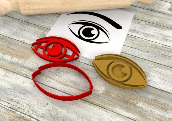tablia biscotti occhi formine stampini