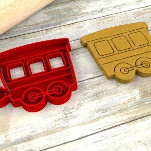 Vagone treno formina biscotti