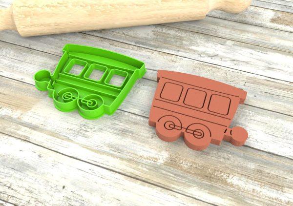 formine per biscotti tagliabiscotti tagliapasta treni vagoni