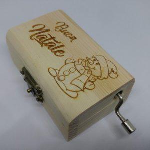 Carillon mini Pupazzo di Neve