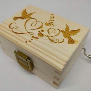 Carillon Per Elisa Colombe cuori