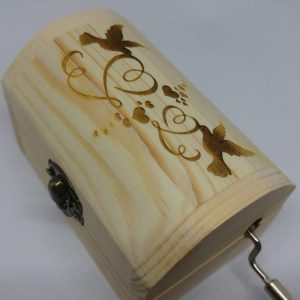 Carillon Bauletto Colombe Innamorate