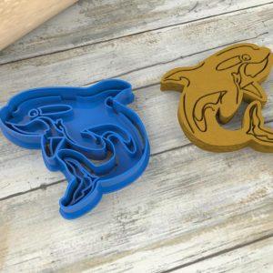 Delfino formina per biscotti