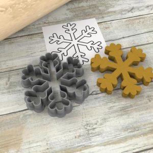 Formina biscotti Fiocco di neve