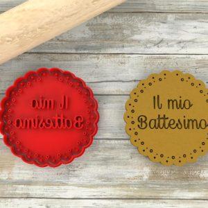 Formina biscotti per Battesimo