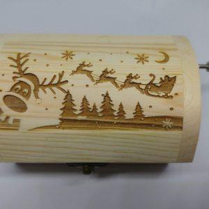 Carillon Renna di Natale