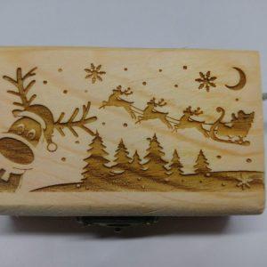 Carillon portagioie Renna di Natale