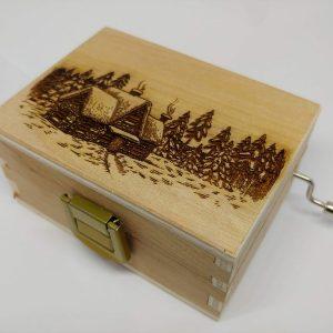 Carillon portagioie Merry Christmas