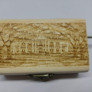 American Mansion Music Box