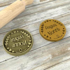 Auguri Nonni formine biscotti