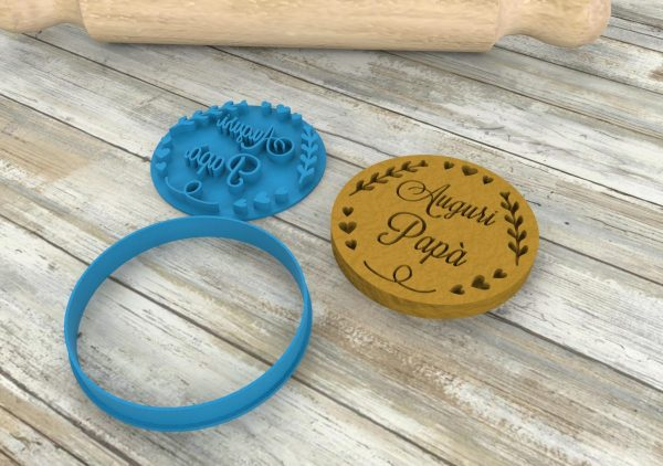 Father's day cookie cutters