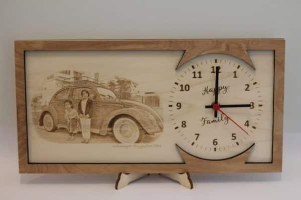 orologio design legno
