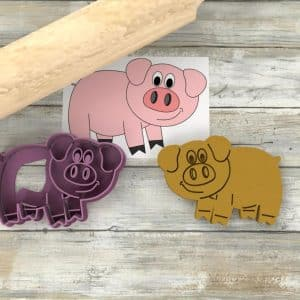 Maialino Pig formina biscotti