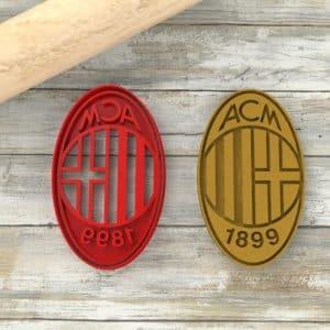 Milan formina biscotti Calcio