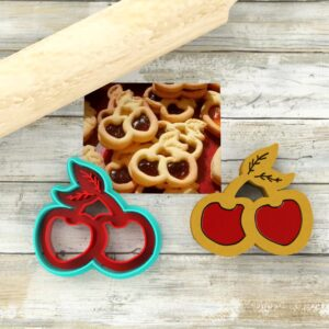 Biscotti ciliegia formine coppapasta