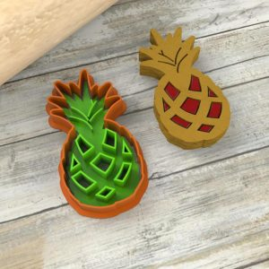 Biscotti ananas ripieni