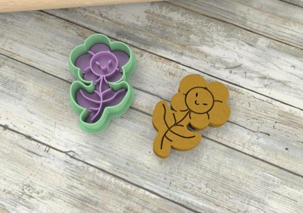 Fiori formine biscotti