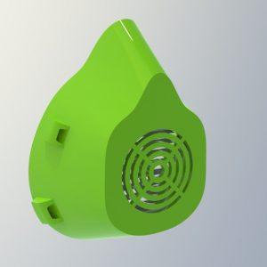 Mascherina COVID lavabile Speaker