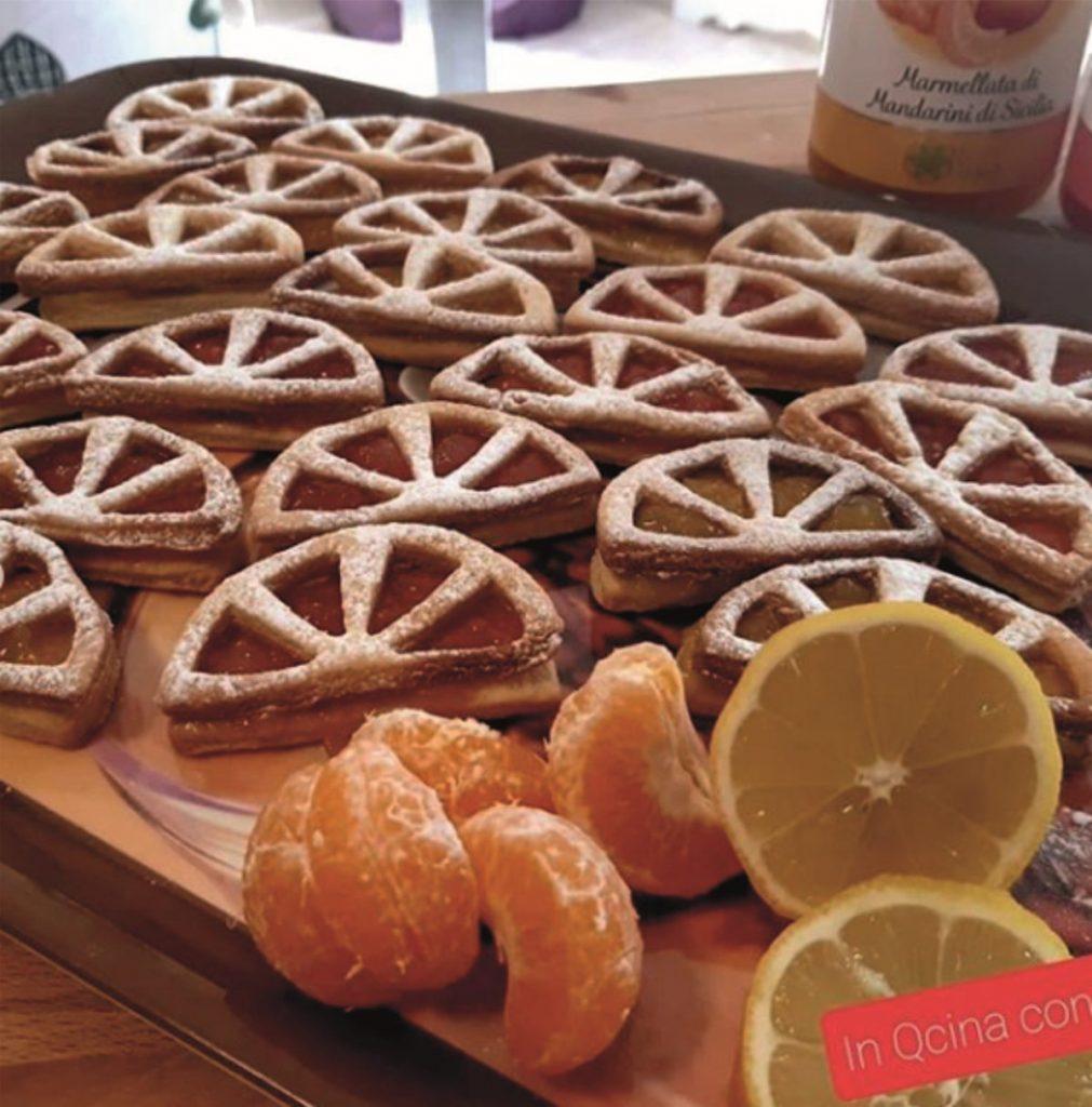 pastrafrolla biscotti ripieni spicchi
