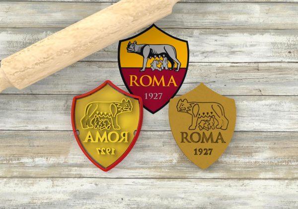 AS Roma formina biscotti