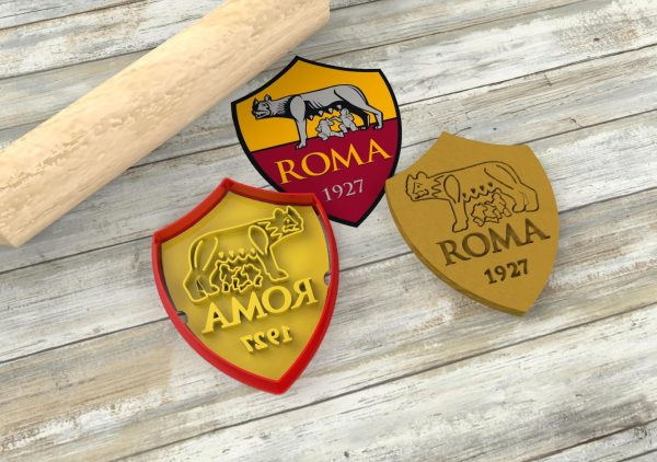 biscotti scudetto della Roma