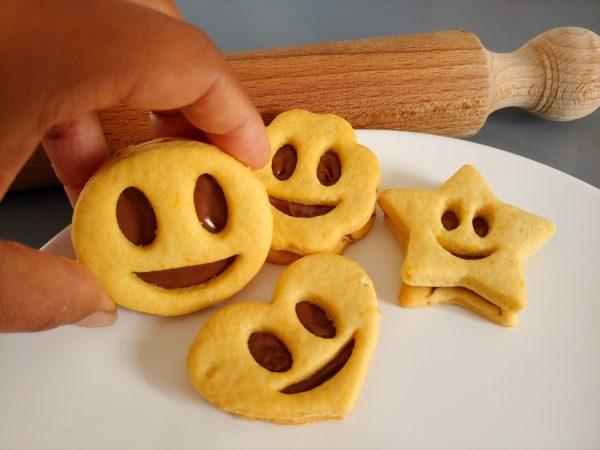biscotti frolla ripieni nutella