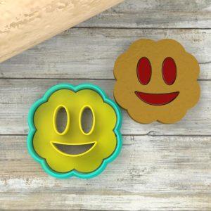 Biscotti smile ripieni marmellata
