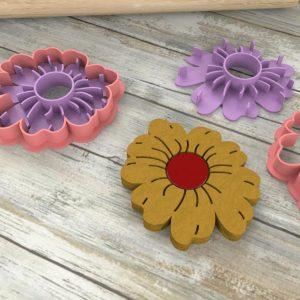 Stampi biscotti formine fiore