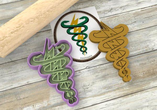 Stemma fisioterapisti associazione logo formina biscotti