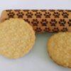 Mattarello legno biscotti Impronta