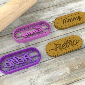 Biscotto Oswego personalizzato