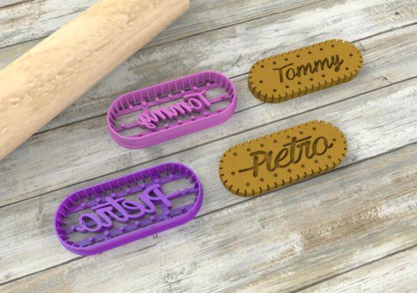 biscotti personalizzati nome oswego