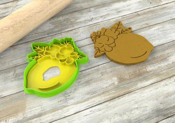 Formina biscotti Limone cutter