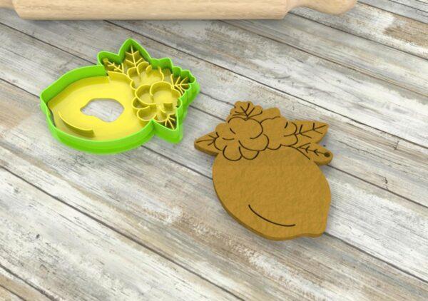 Cutter limone stampi per biscotti