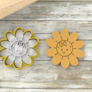 Margherita formina biscotti fiori