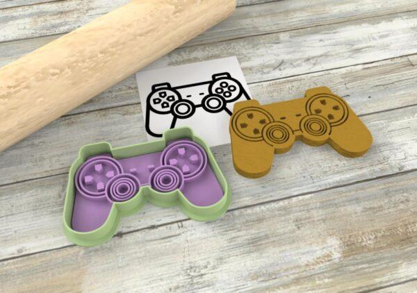 Pad videogiochi stampini formine stampi cutter biscotti