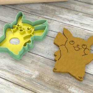Pikachu Pokèmon formine biscotti