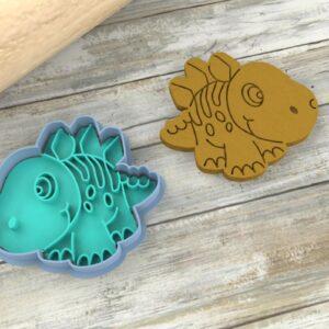 Stegosauro cucciolo formina biscotti