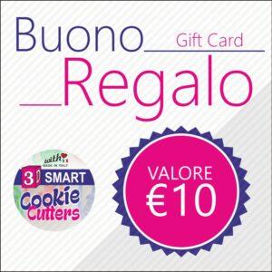Buono Regalo 3dsmart € 10