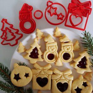 Biscotti occhio di Bue Pupazzo di Neve