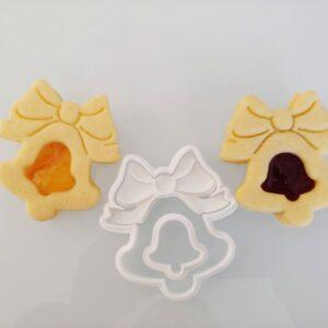 Campanellina biscotti ripieni marmellata