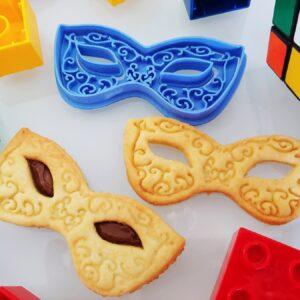 Formina biscotti Maschera Carnevale Romantica