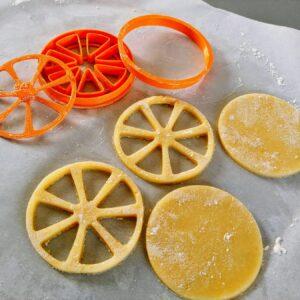 Biscotto fetta di limone arancia